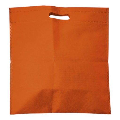 plastic bag printing 42 - Non-Woven Shopper With Integrated Handles