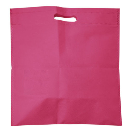 plastic bag printing 43 - Non-Woven Shopper With Integrated Handles